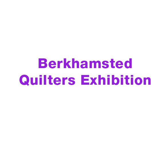 local charity berkhamsted quilters exhibition logo