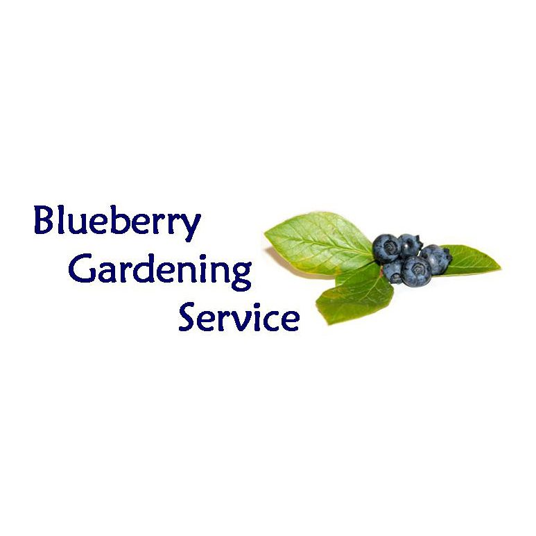 logo of blueberry gardening service