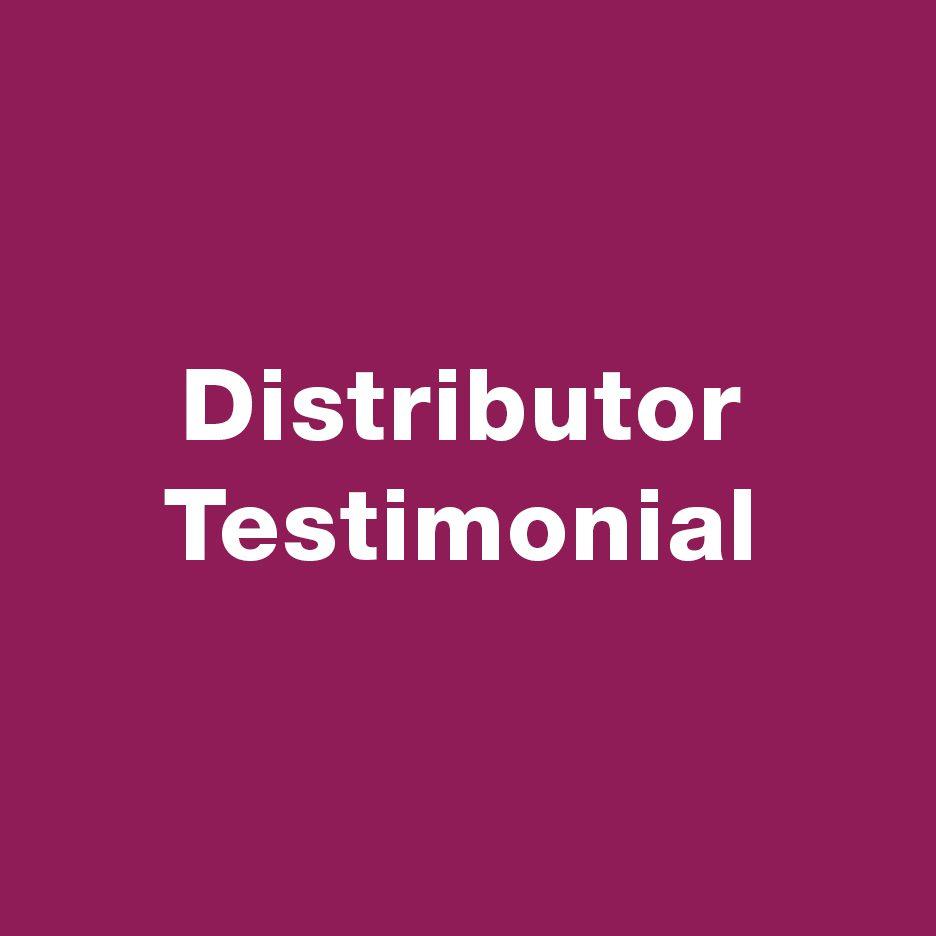 testimonial of local magazine and leaflet distributor